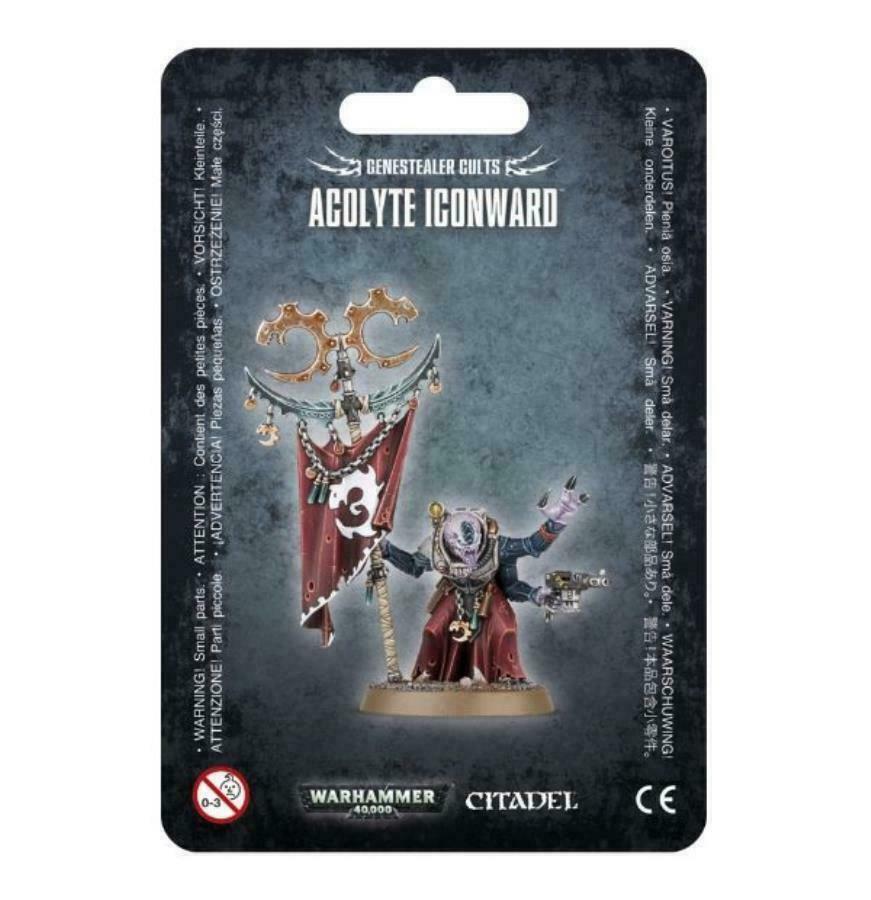 Warhammer 40K 40K 40K Genestealer Cults Acolyte Iconward GSC 171824
