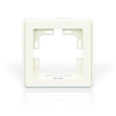 Unterputz Schalterprogramm VDE Serien-Schalter Schuko-Steckdose Dimmer 250V Weiß