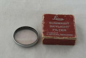 Leica-Summarit-50mm-f-1-5-E41-Skylight-Filter-Boxed-41mm-1st-Summilux-35-f1-4