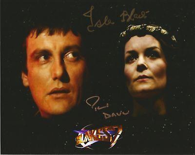Paul Darrow is Avon Blakes 7 hand signed photo with COA UACC /& AFTAL Reg Dealer