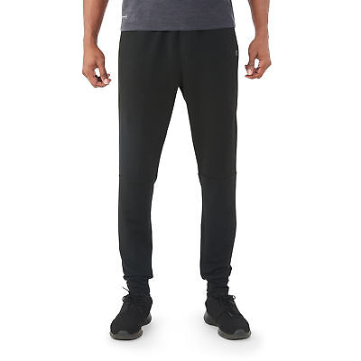 XL NEW Rich Black Russell Men/'s Performance Knit Jogger Sizes Large