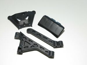 TLR04000 TLR LOSI 8IGHT 3.0 BUGGY NEW CHASSIS BRACES BUMPER