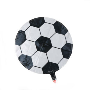 Home & Garden 1pc Colorful Football Aluminum Balloon Round Ball Children`s Toys Party Decoration Wholesale 18 Inch Event & Party