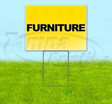 Furniture 18x24 Yard Sign Corrugated Plastic Bandit Lawn Usa