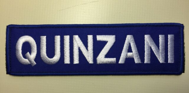 """Custom Hook and Loop Name Patch 7/""""x2"""" CrossFit Weight Vest Fitness Training 5.11"""