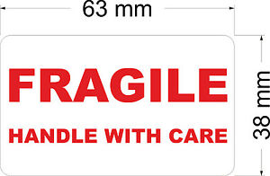 210-x-FRAGILE-HANDLE-WITH-CARE-Labels-Stickers-63-x-38-mm