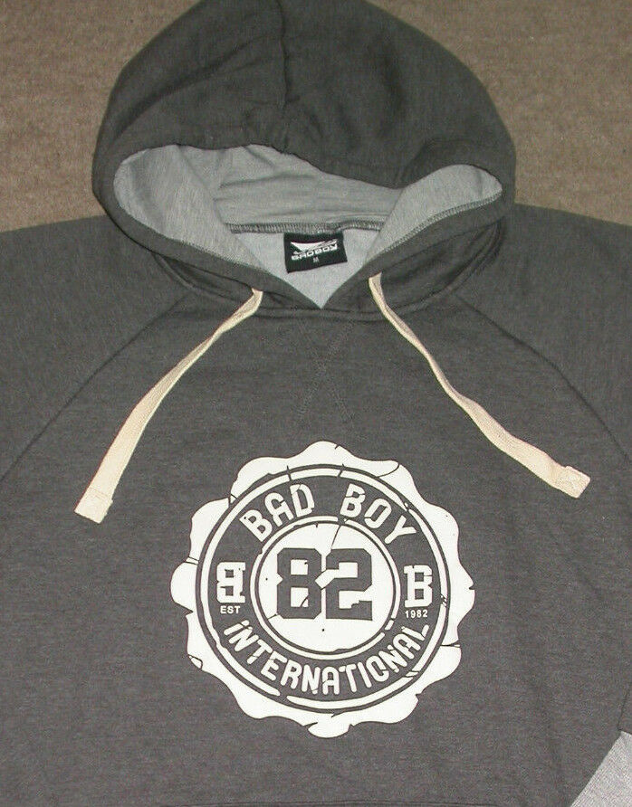 BAD BOY INT MMA HOODY SWEATSHIRT TOP . UFC BJJ JIU JITSU MUAY THAI BOXING NEW