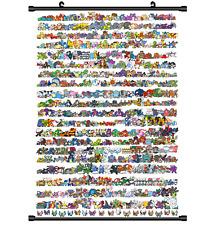 "Hot Japan Anime Pokemon Monster Home Decor Poster Wall Scroll 8""x12"" PP261"