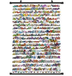 Hot-Japan-Anime-Pokemon-Monster-Home-Decor-Poster-Wall-Scroll-8-034-x12-034-PP261
