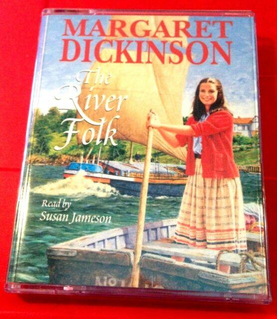 Margaret Dickinson The River Folk 2-Tape Audio Book Susan Jameson