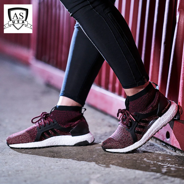 on sale 076b5 6fbed Adidas Ultra Boost X All Terrain Women's Shoes Mystery Ruby BY1678 Sz  10/10.5/11