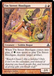 x4 MTG Magic The Gathering Guildpact Tin Street Hooligan NM