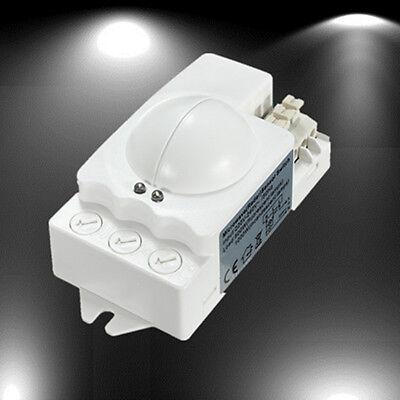 360° 500W Microwave Smart Motion Sensor Light Radar Switch Ceiling Recessed Wall