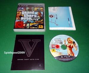 GTA 5 Grand Theft Auto Five GTA V USK 18 fuer PS3 mit OVP und MAP - Rheinfelden, Deutschland - GTA 5 Grand Theft Auto Five GTA V USK 18 fuer PS3 mit OVP und MAP - Rheinfelden, Deutschland