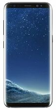 Samsung Galaxy S8 SM-G950U - 64GB - Midnight Black (Unlocked) Smartphone
