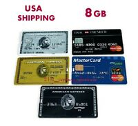 8gb Credit Card Usb Flash Drive Memory Stick Storage Office Business High-speed-