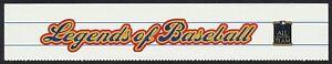 #3408 Legendas De Béisbol, Orillo [sin Sellos] Cualquier 5=