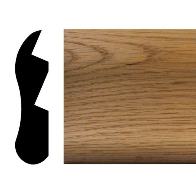 ADA 1//2 inch Solid Hardwood Interior Threshold in Red Oak 3 1//2 inches x 24 inches