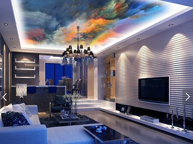 3D Farbe Painting 85 Ceiling WallPaper Murals Wall Print Decal Deco AJ WALLPAPER