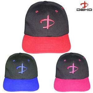 72c2487f422 Deko Mens Sports Peak Cap Baseball Hat Logo Adjustable Running Golf ...