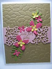 Stampin' Up! So In Love JUST FOR YOU Birthday Flowers Card Kit - 2 Cards