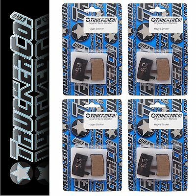 2pr TruckerCo S High Performance Disc Brake Pads Hayes Stroker Ace Semi Metallic