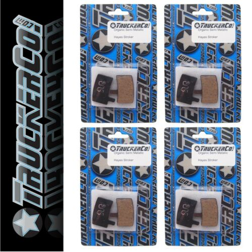 x4 pr TruckerCo  High Performance Disc Brake Pads Hayes Stroker Trail Gram osm15