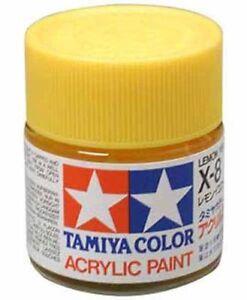 TAMIYA-COLOR-GLOSS-ACRYLIC-PAINT-X-8-Lemon-Yellow