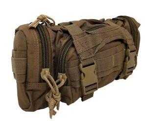 ELITE FIRST AID Rapid Response Bag STOCKED Tactical Medic Trauma Kit Bag CY TAN+