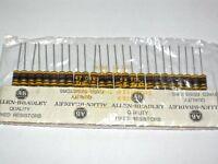 47R 2W RCR42G470JS Allen Bradley Carbon Composition Resistors 47OHMS [QTY=25pcs]