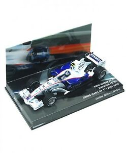 NEW-Minichamps-1-43-BMW-Sauber-f1-07-Sebastian-Vettel-2007-USA-GP-Limited-Japan