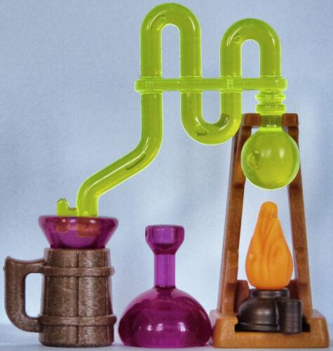 chimie magie mage serpentin sorcier Playmobil accessoires alambic
