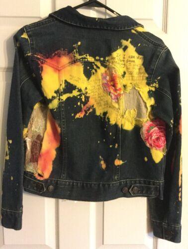 Conçu Jacket Unique Artists Main Unique La Jean À Crafted wtxgq6O