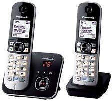 "Panasonic KX-TG6822GB DECT-Schnurlostelefon 1,8"" Display, Anrufbeantworter, NEU"