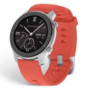 Amazfit GTR Rojo 42 mm Smartwatch Batería Larga Duración Garantía 2 años