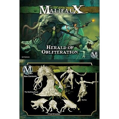 Malifaux: Outcasts Herald of Obliteration Tara Crew WYR 20520