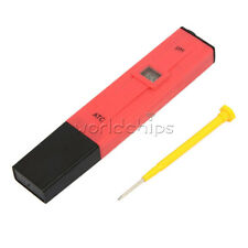 Electric Digital PH Meter Tester Hydroponics Pen Pool Aquarium Water PH Test