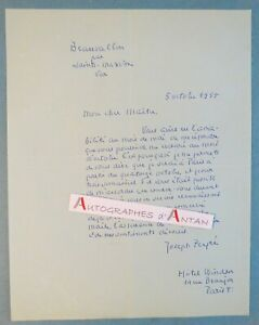 L-A-S-1955-Joseph-PEYRE-ecrivain-a-Maurice-Garcon-Beauvallon-par-Sainte-Maxime