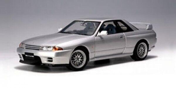 Autoart Nissan Skyline GTR (r32) V-Spec II argent 1 18 77346