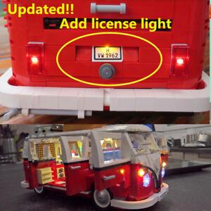 Updated Led Light Kit For Lego 10220 Amp 21001 Camper Van