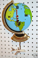 Michelle Allen Designs Earth Globe Clock Whimsical Ships In 24 Hours