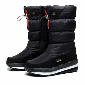 Winter Snow Boots Waterproof Thick Warm