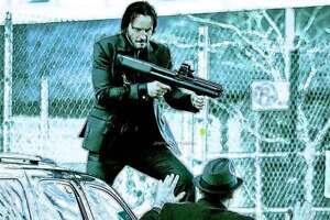 John Wick Keanu Reeves Kel Tec Ksg Gas Shot Model Toy Ebay