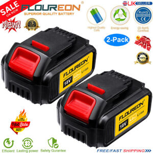 2x 4Ah 18V Volt XR Li-ion Battery for Dewalt DCD785 DCB182 DCF885 DCB180 DCB200