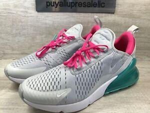 Women S Nike Air Max 270 South Beach Pure Platinum Pink Blast