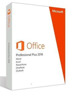 MS Microsoft Office 2016 Professional Plus 3 PC - Vollversion Business Pro - Deutschland - MS Microsoft Office 2016 Professional Plus 3 PC - Vollversion Business Pro - Deutschland