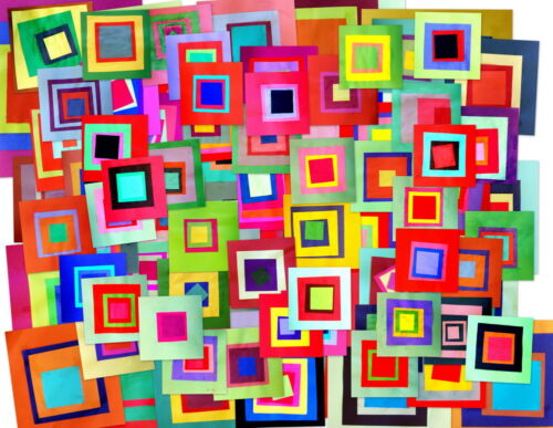 Josef Albers Squares Giclee Canvas Print Paintings Poster Reproduction Copy