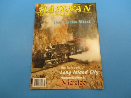Railfan & Railroad Magazine March 1999 The Silverton Mixed M3118