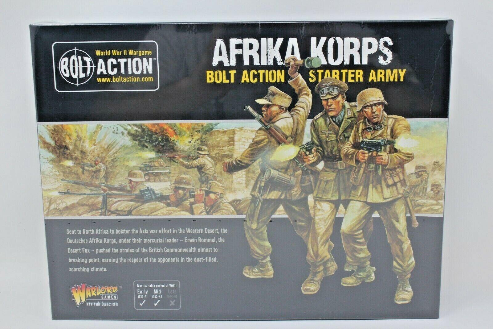 Bolt azione Afrika Korps Geruomo estrellater Army nuovo