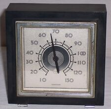 Vintage Taylor THERMOGUIDE THERMOMETER Art Deco Great For Desk Table Handsome